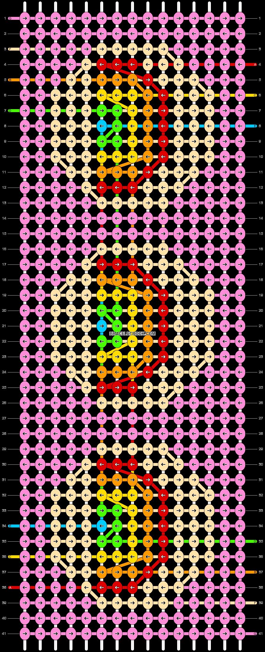 Alpha pattern #59493 pattern