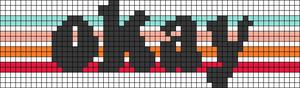 Alpha pattern #59500