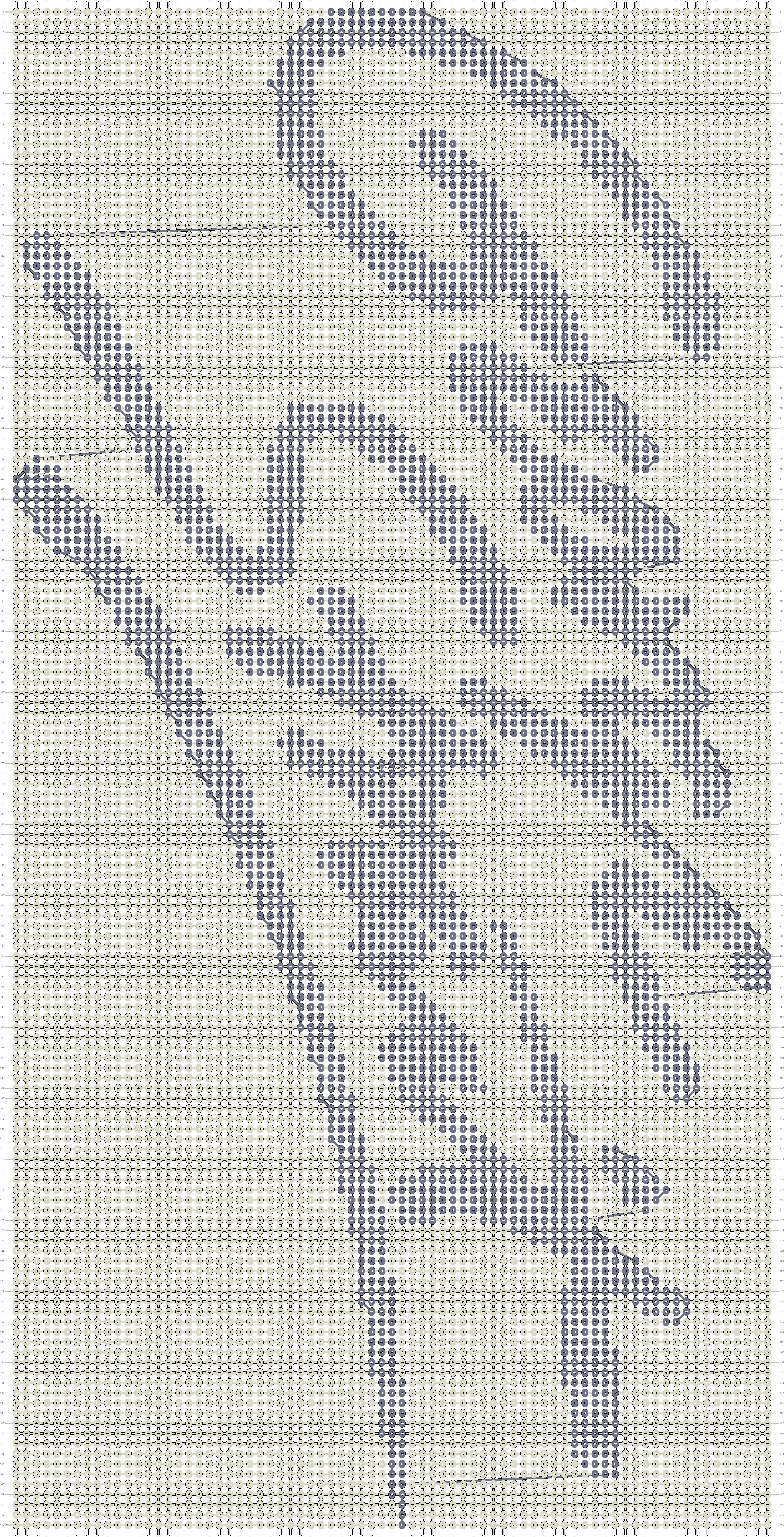 Alpha pattern #59534 pattern