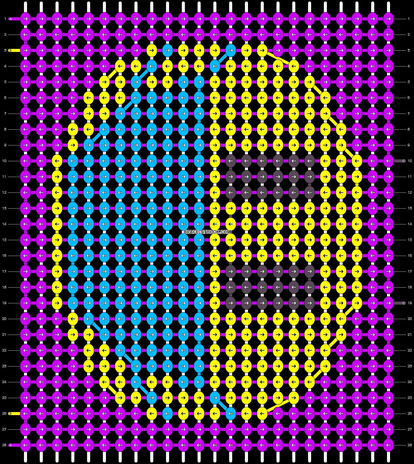 Alpha pattern #59538 pattern