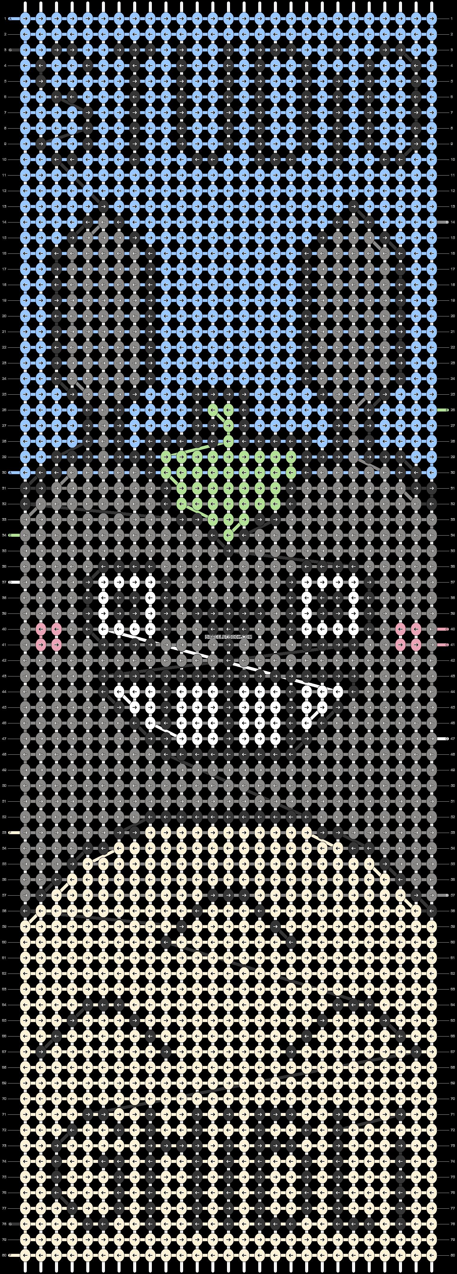 Alpha pattern #59542 pattern