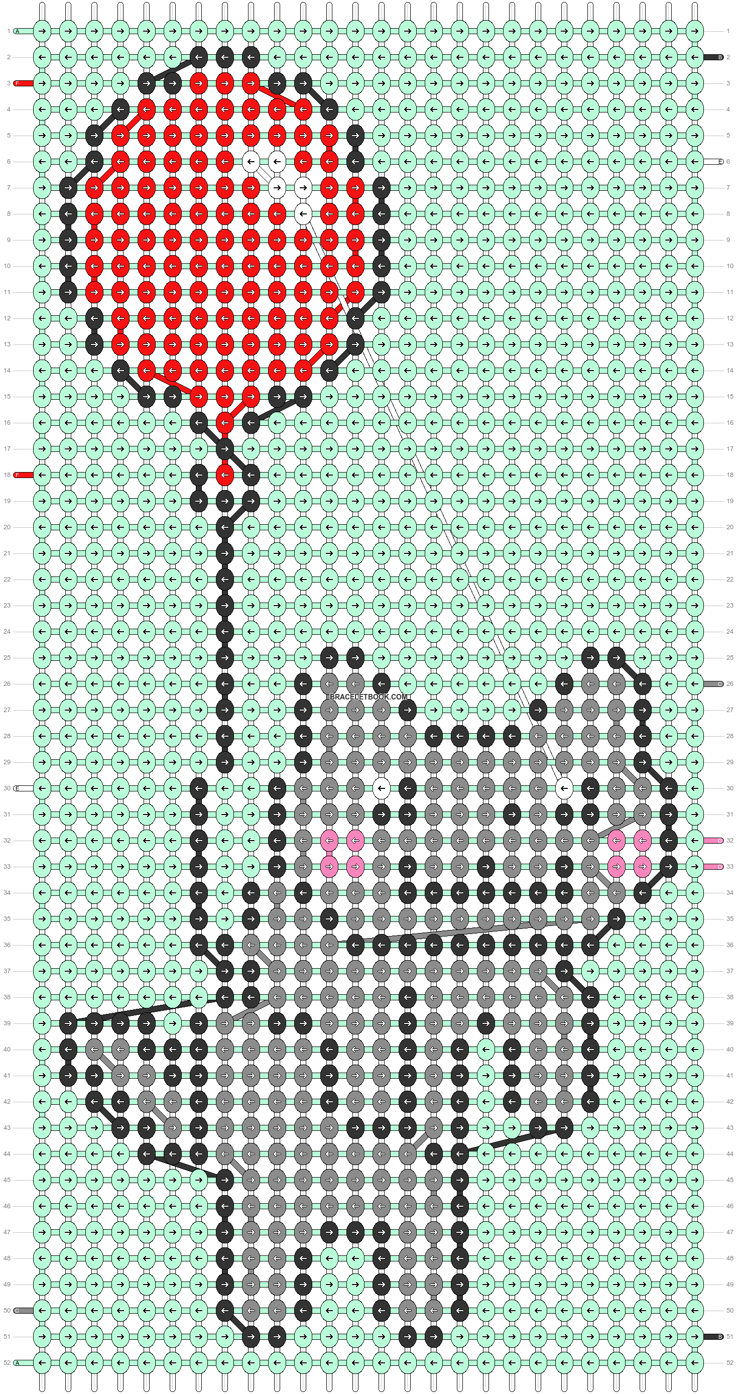 Alpha pattern #59554 pattern