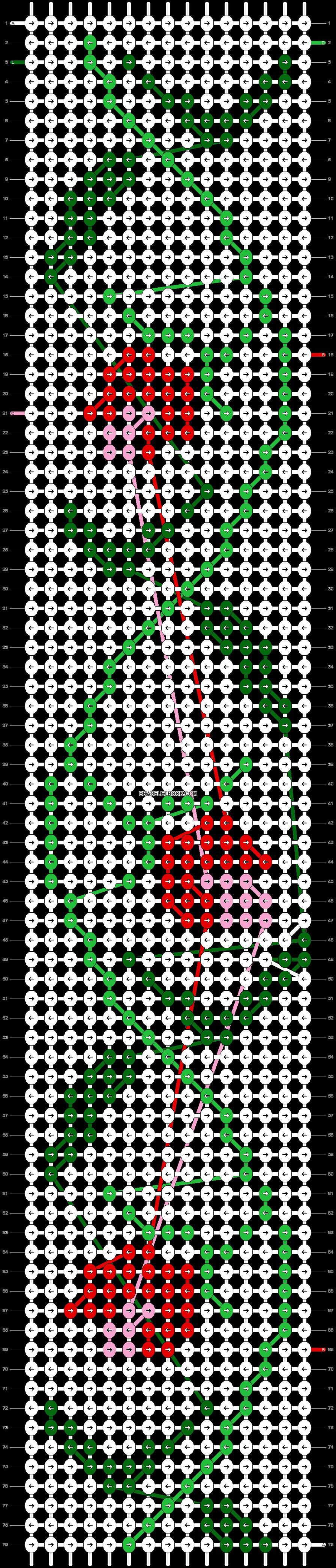 Alpha pattern #59556 pattern