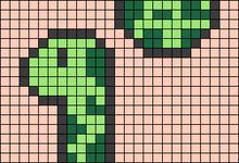 Alpha pattern #59565