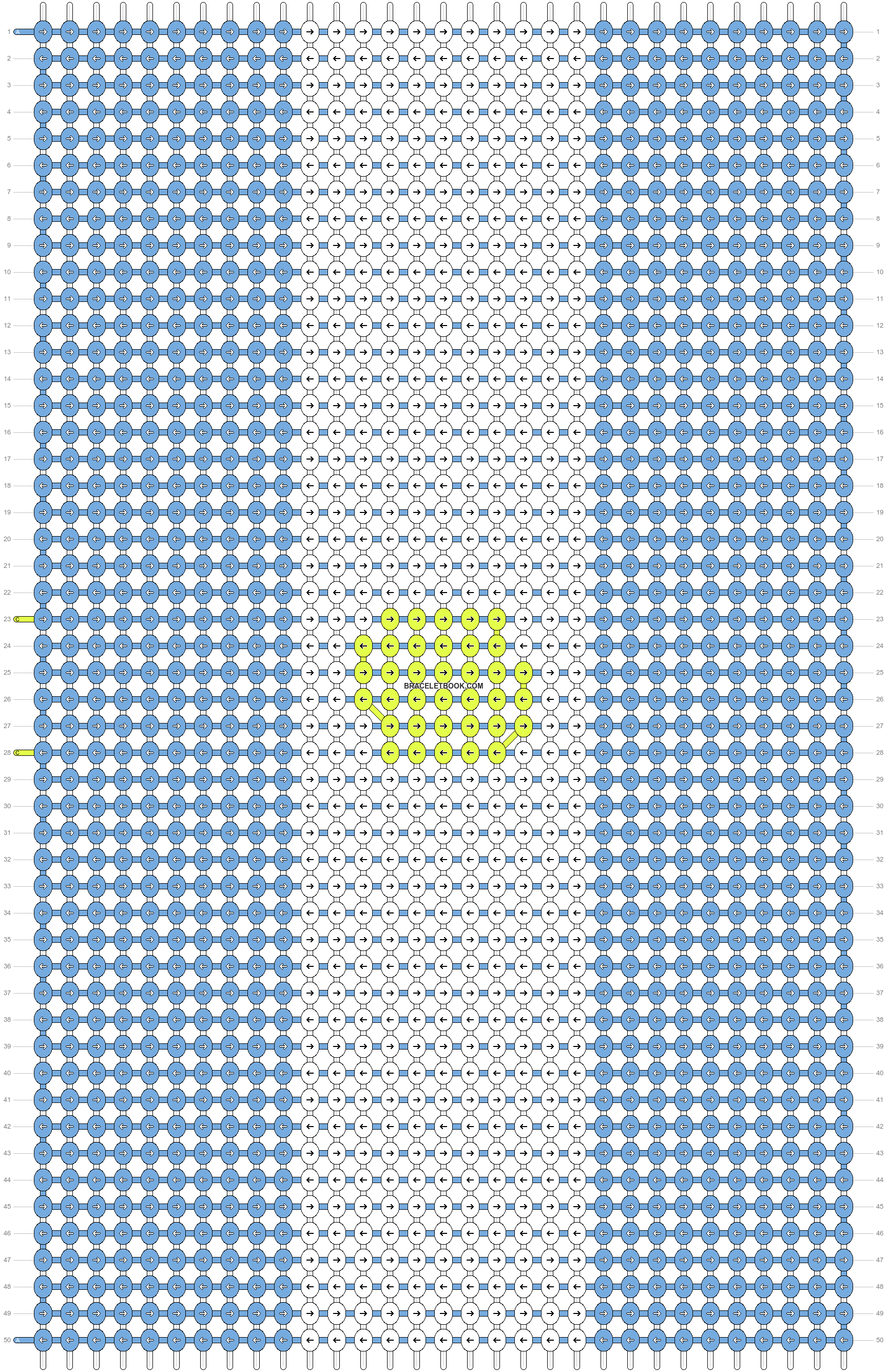 Alpha pattern #59630 pattern