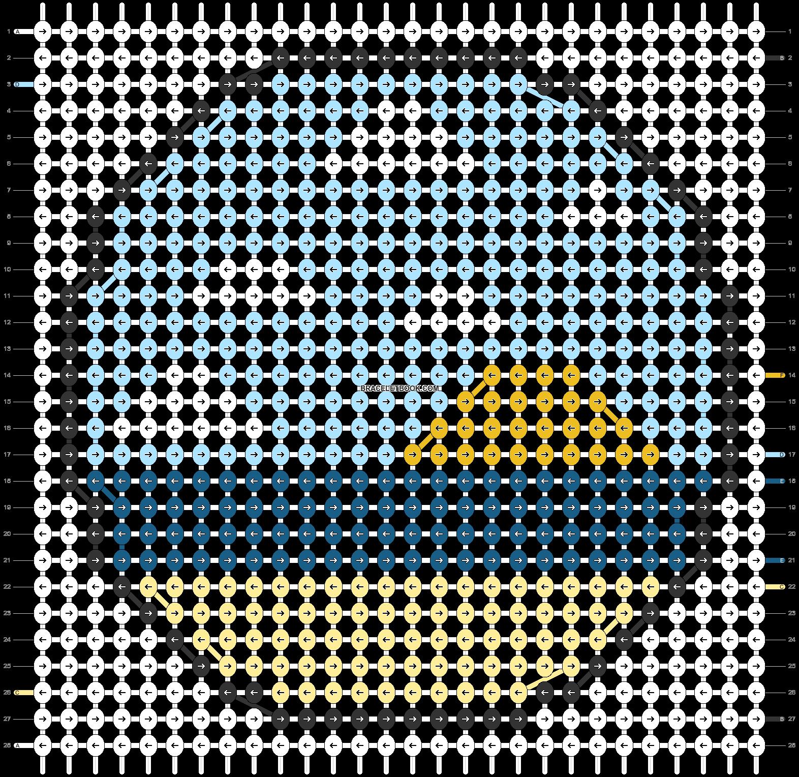 Alpha pattern #59640 pattern
