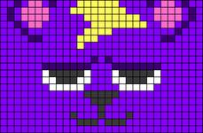 Alpha pattern #59651