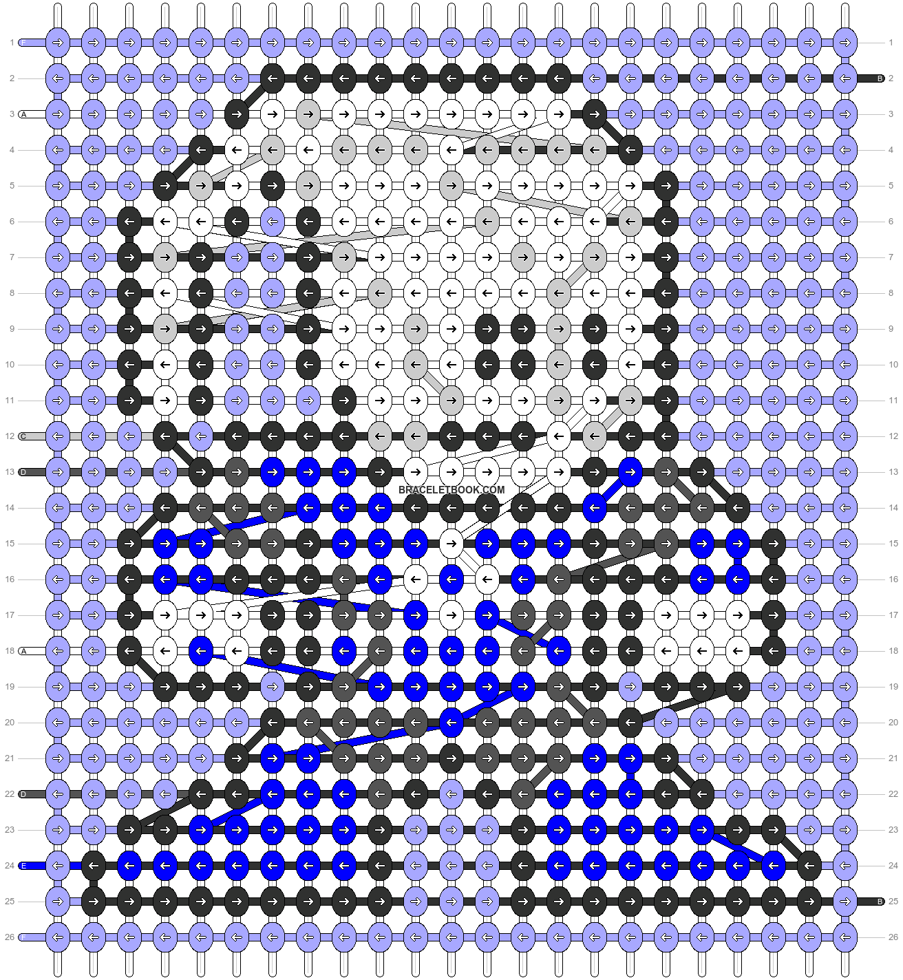 Alpha pattern #59669 pattern