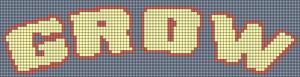 Alpha pattern #59678
