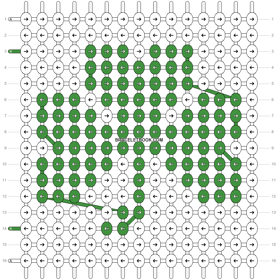 Alpha pattern #59684 pattern