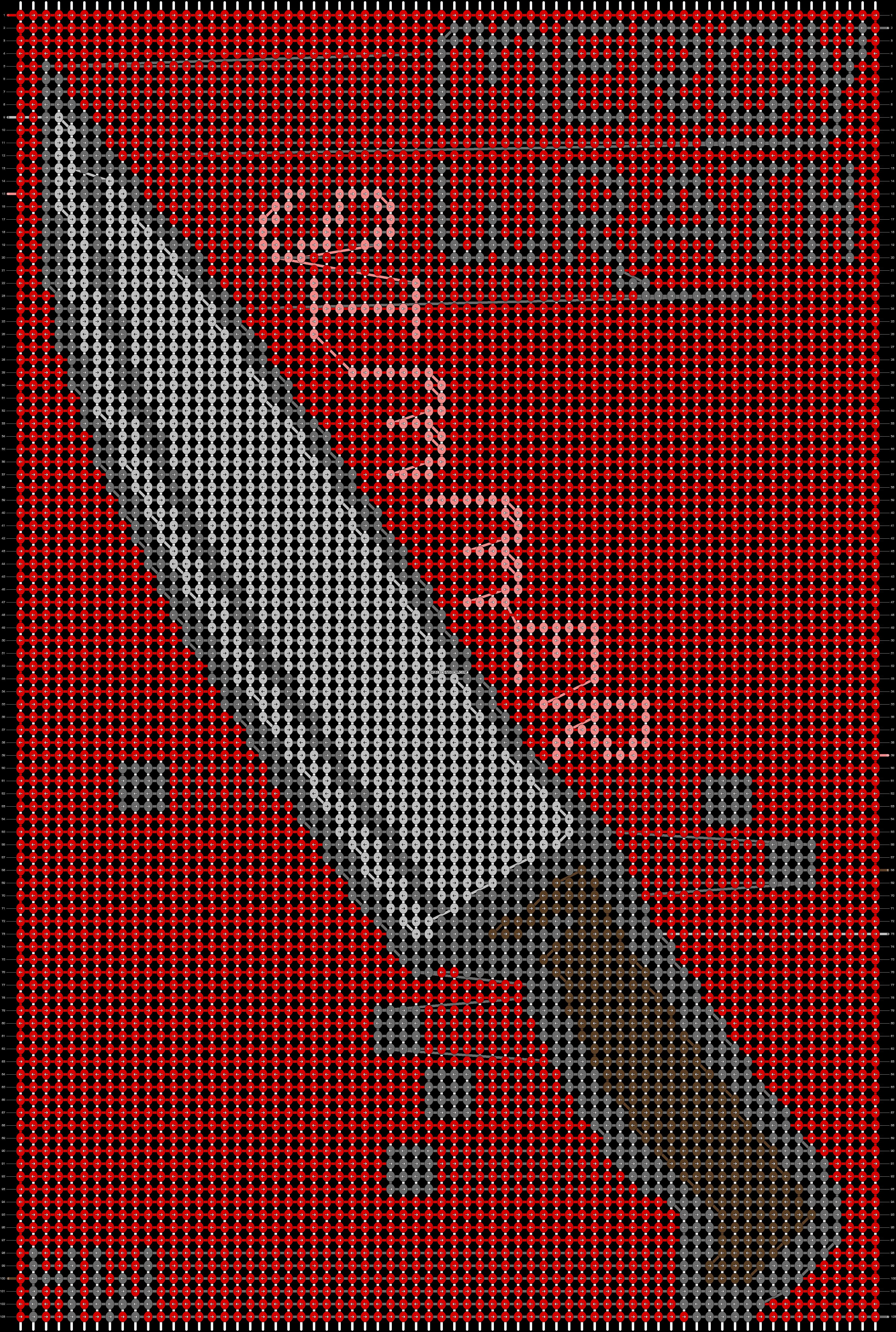 Alpha pattern #59687 pattern
