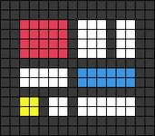 Alpha pattern #59720