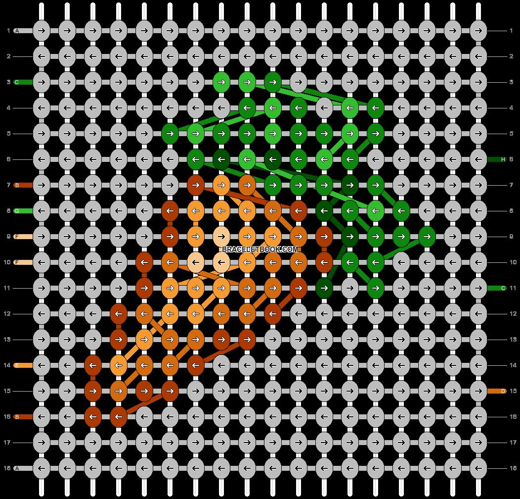Alpha pattern #59798 pattern