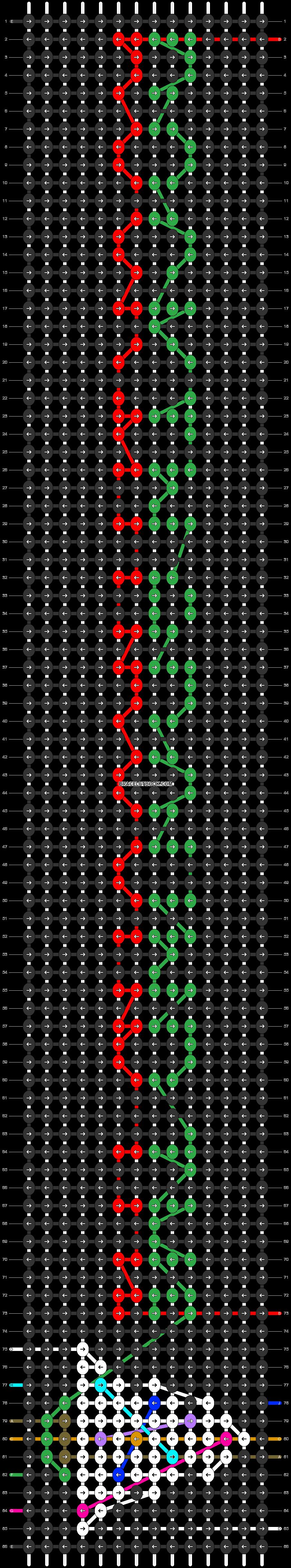 Alpha pattern #59801 pattern