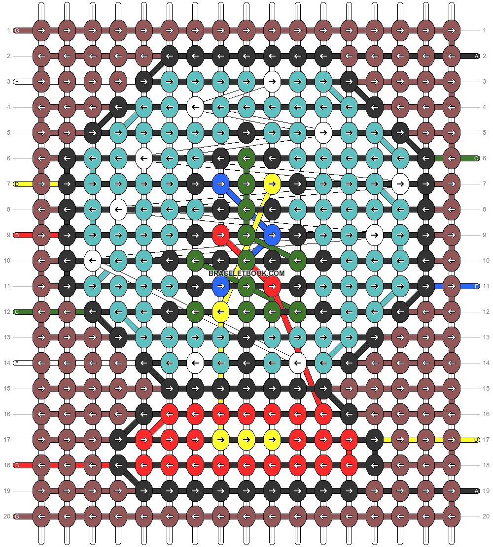 Alpha pattern #59817 pattern