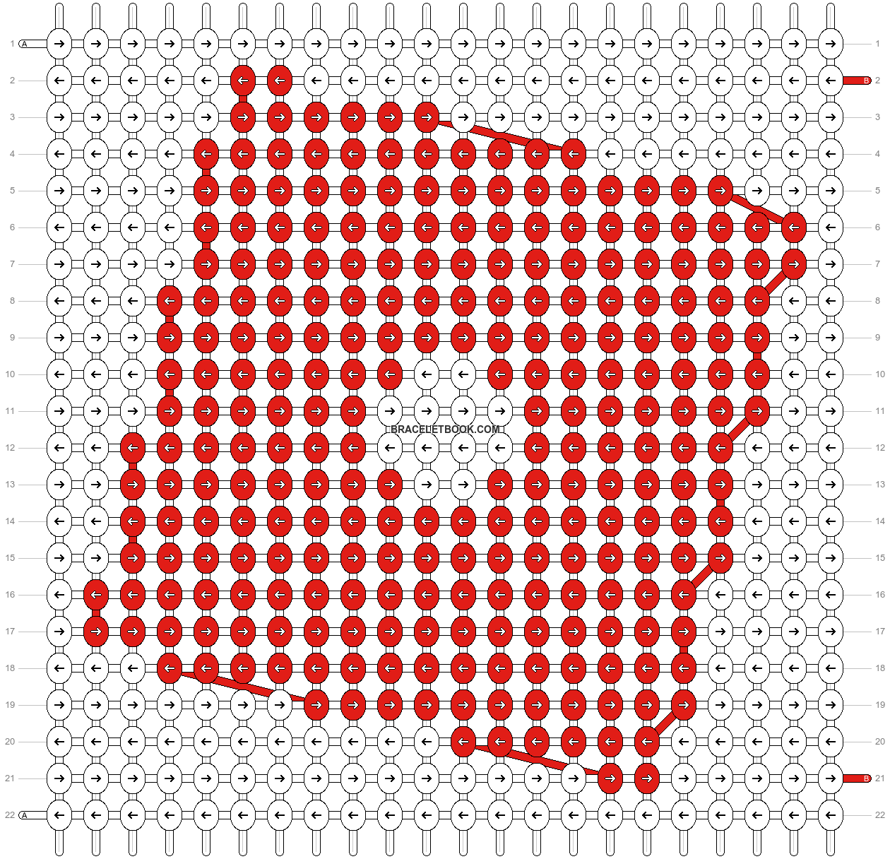 Alpha pattern #59818 pattern