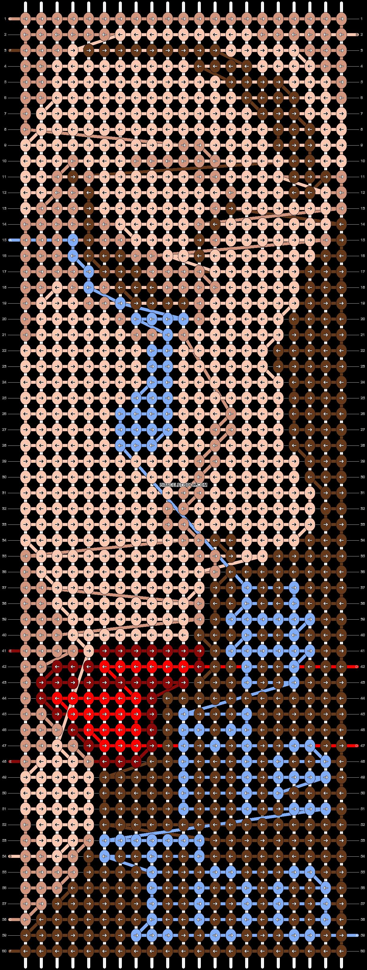 Alpha pattern #59820 pattern
