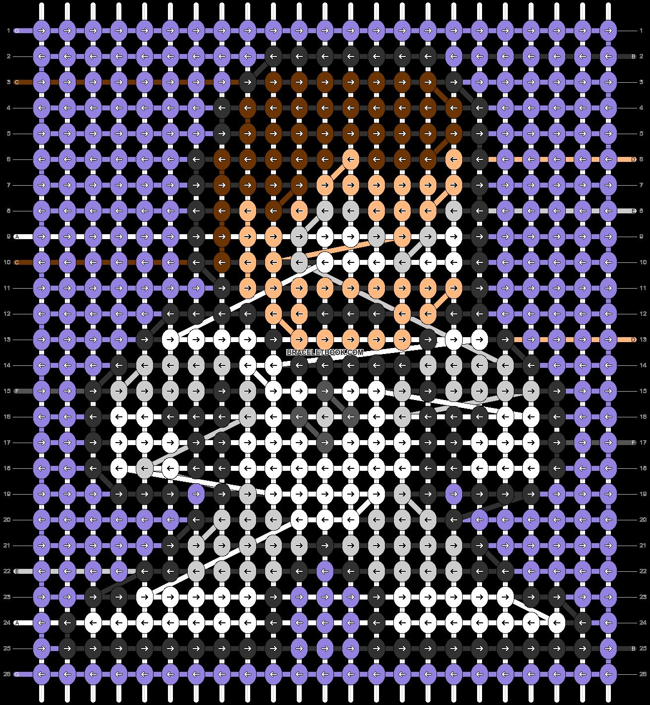 Alpha pattern #59848 pattern