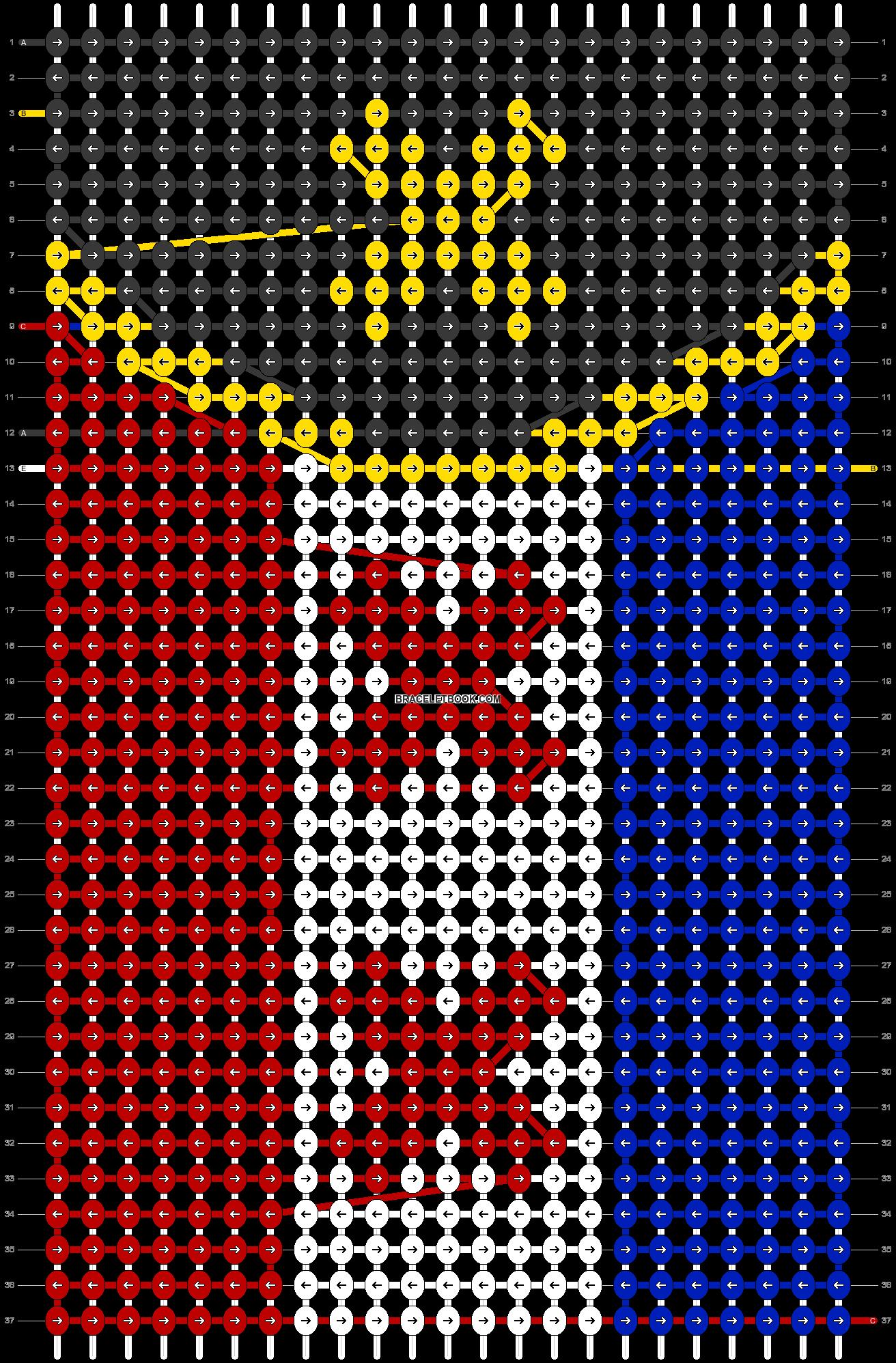 Alpha pattern #59873 pattern