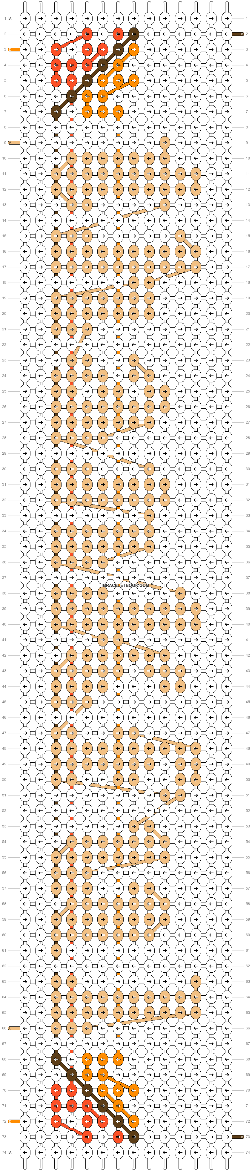 Alpha pattern #59876 pattern