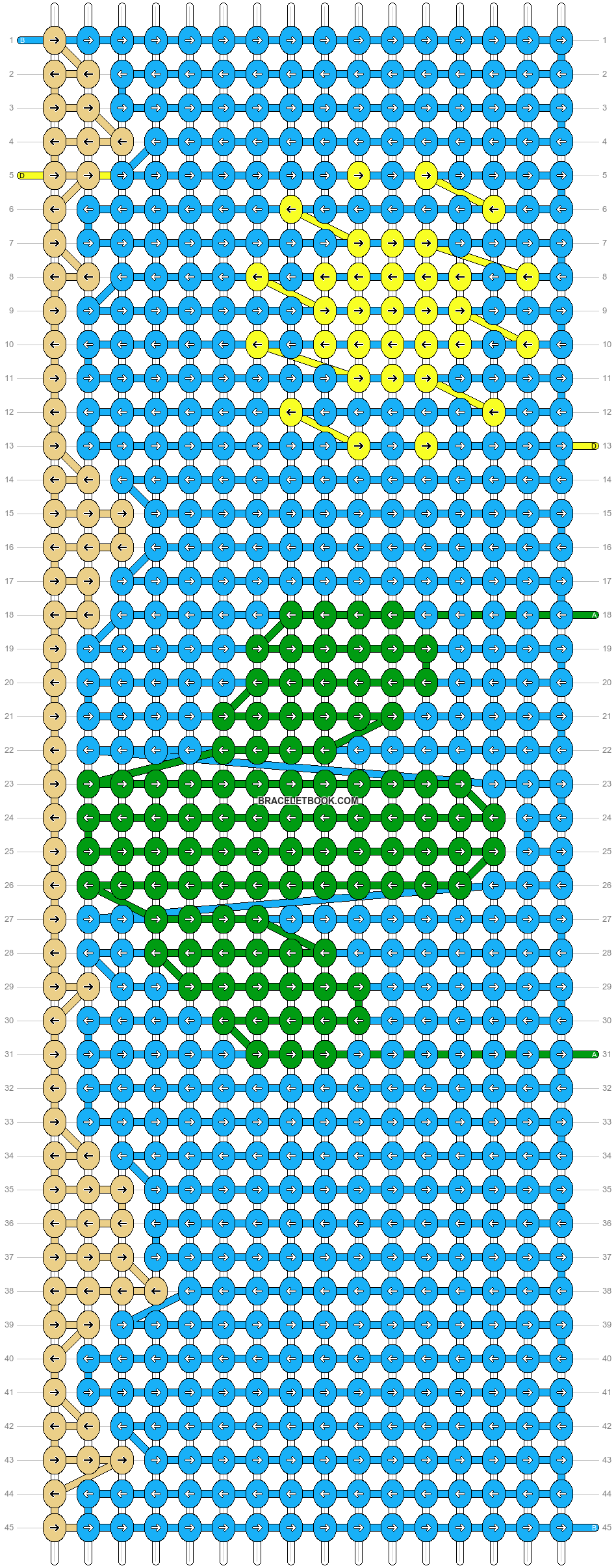 Alpha pattern #59891 pattern