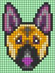 Alpha pattern #59899