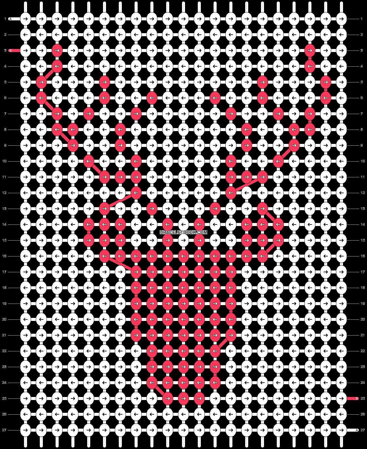 Alpha pattern #60027 pattern