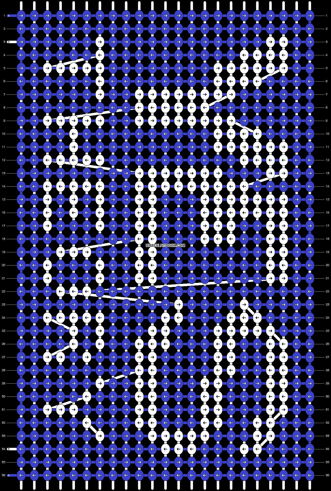 Alpha pattern #60078 pattern