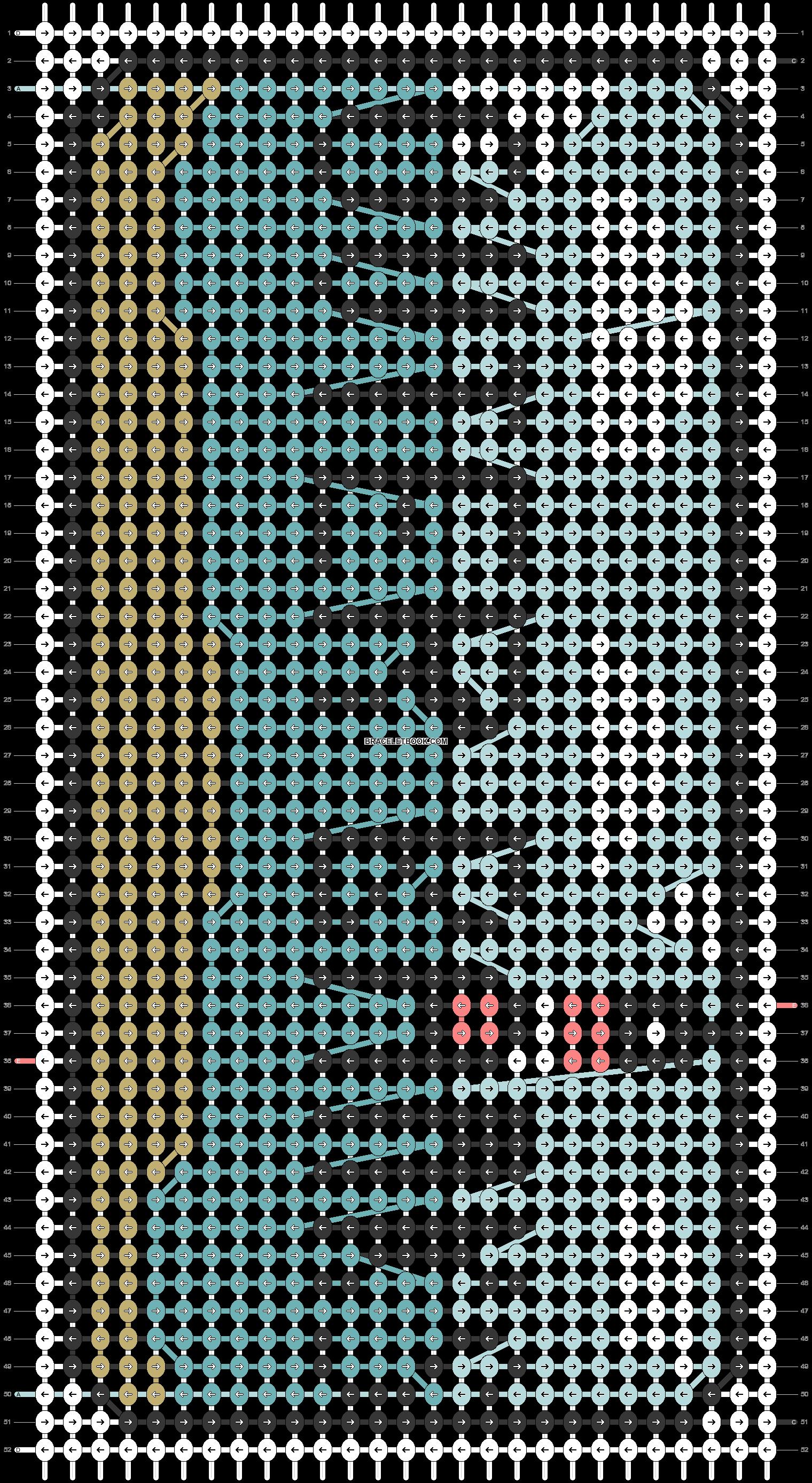 Alpha pattern #60101 pattern
