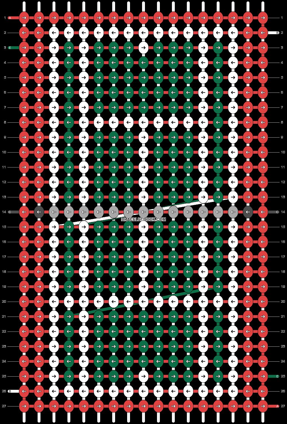 Alpha pattern #60104 pattern