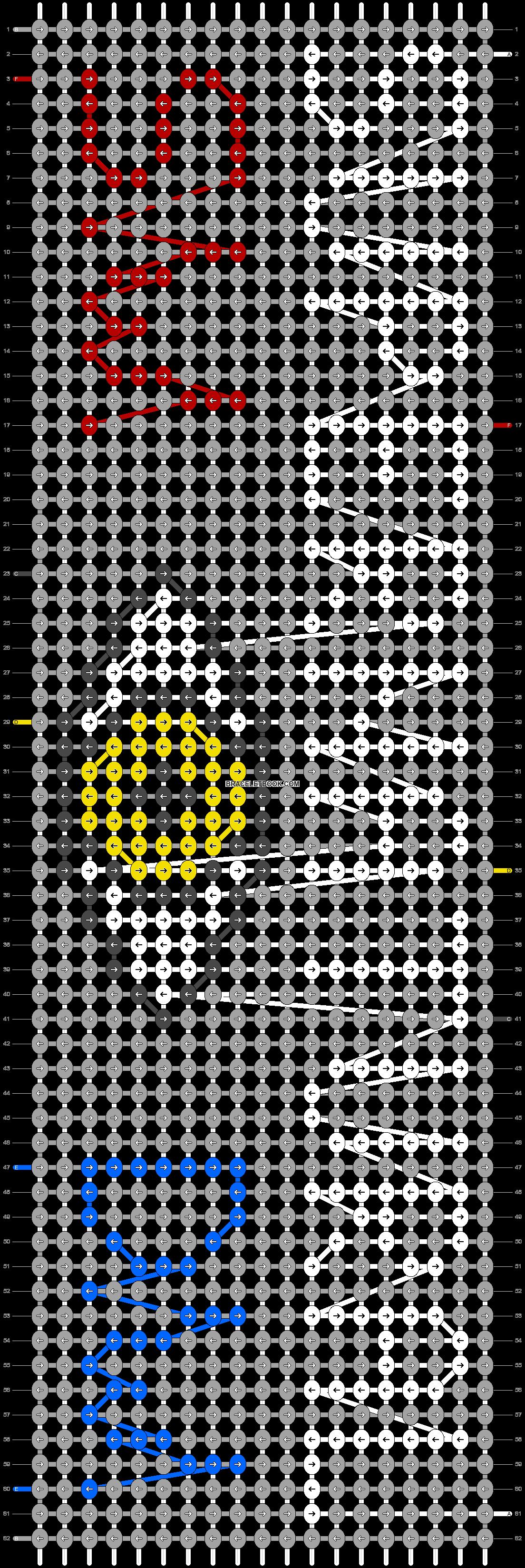 Alpha pattern #60107 pattern