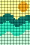 Alpha pattern #60140