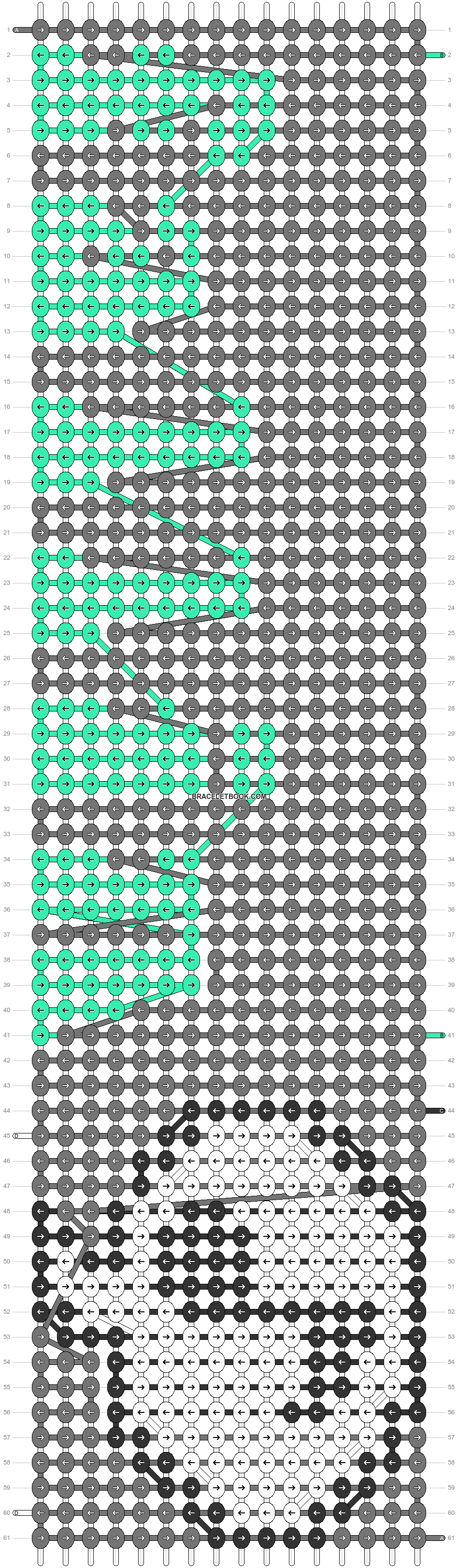 Alpha pattern #60180 pattern