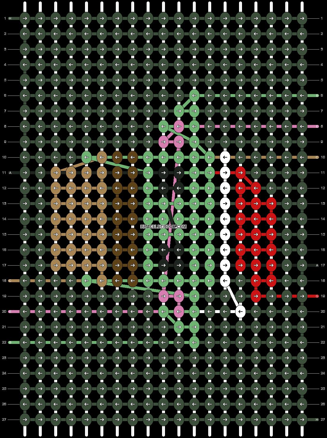 Alpha pattern #60187 pattern