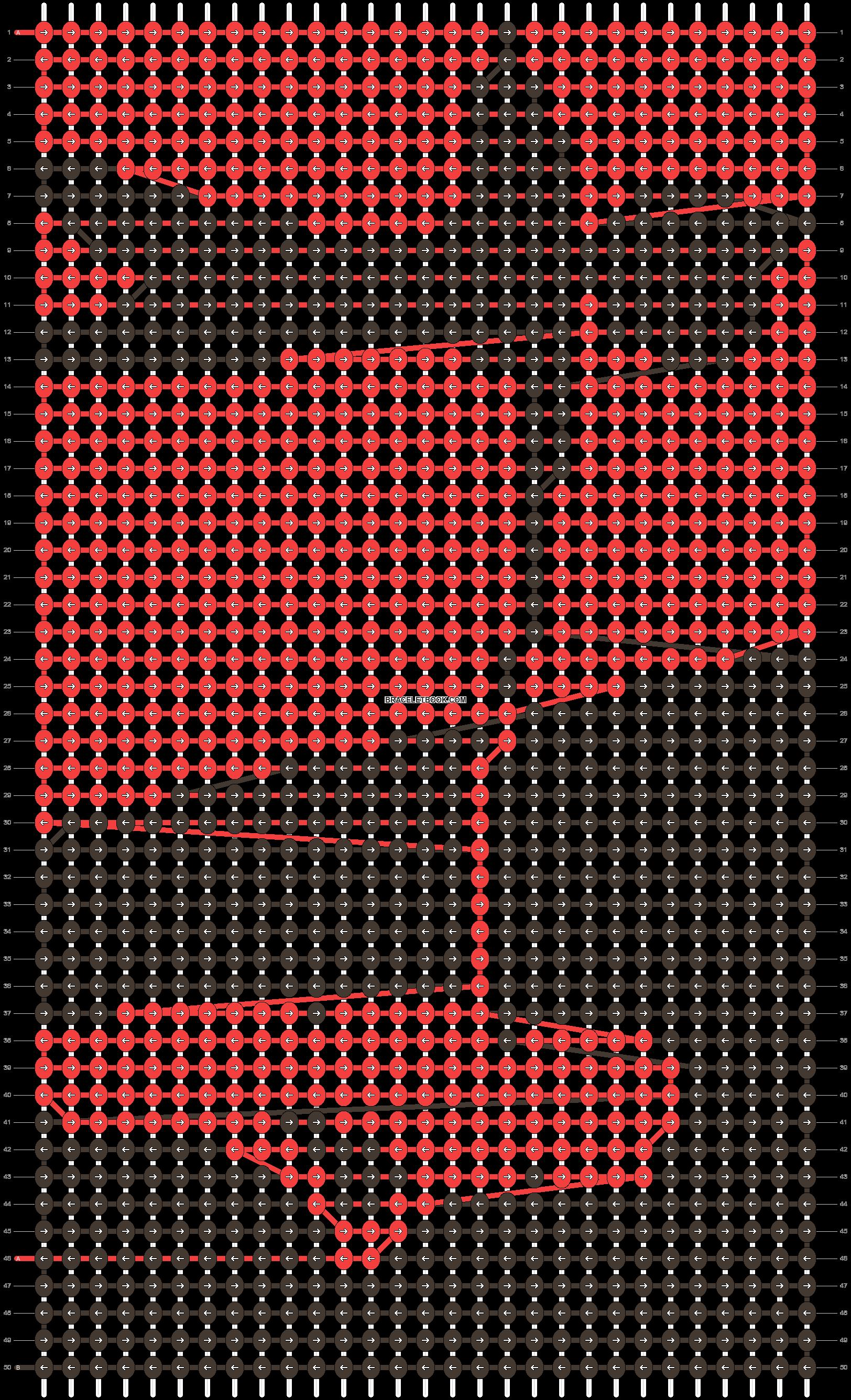 Alpha pattern #60228 pattern