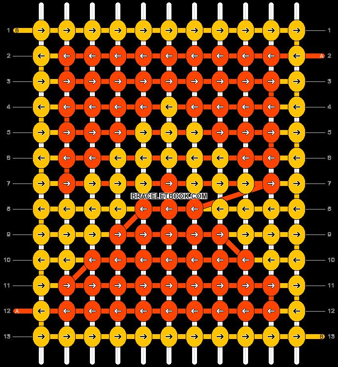 Alpha pattern #60233 pattern