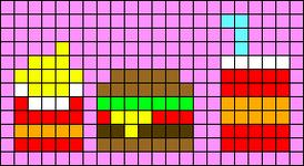 Alpha pattern #60259