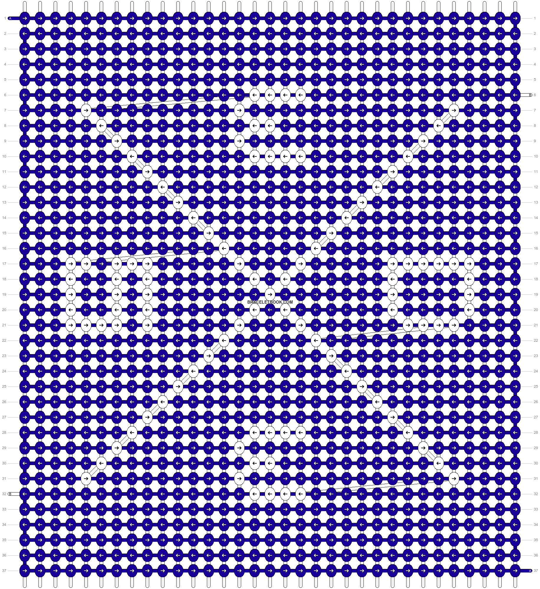 Alpha pattern #60262 pattern