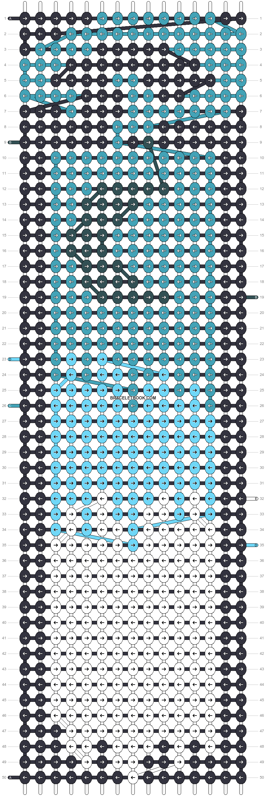 Alpha pattern #60266 pattern