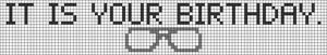 Alpha pattern #60285