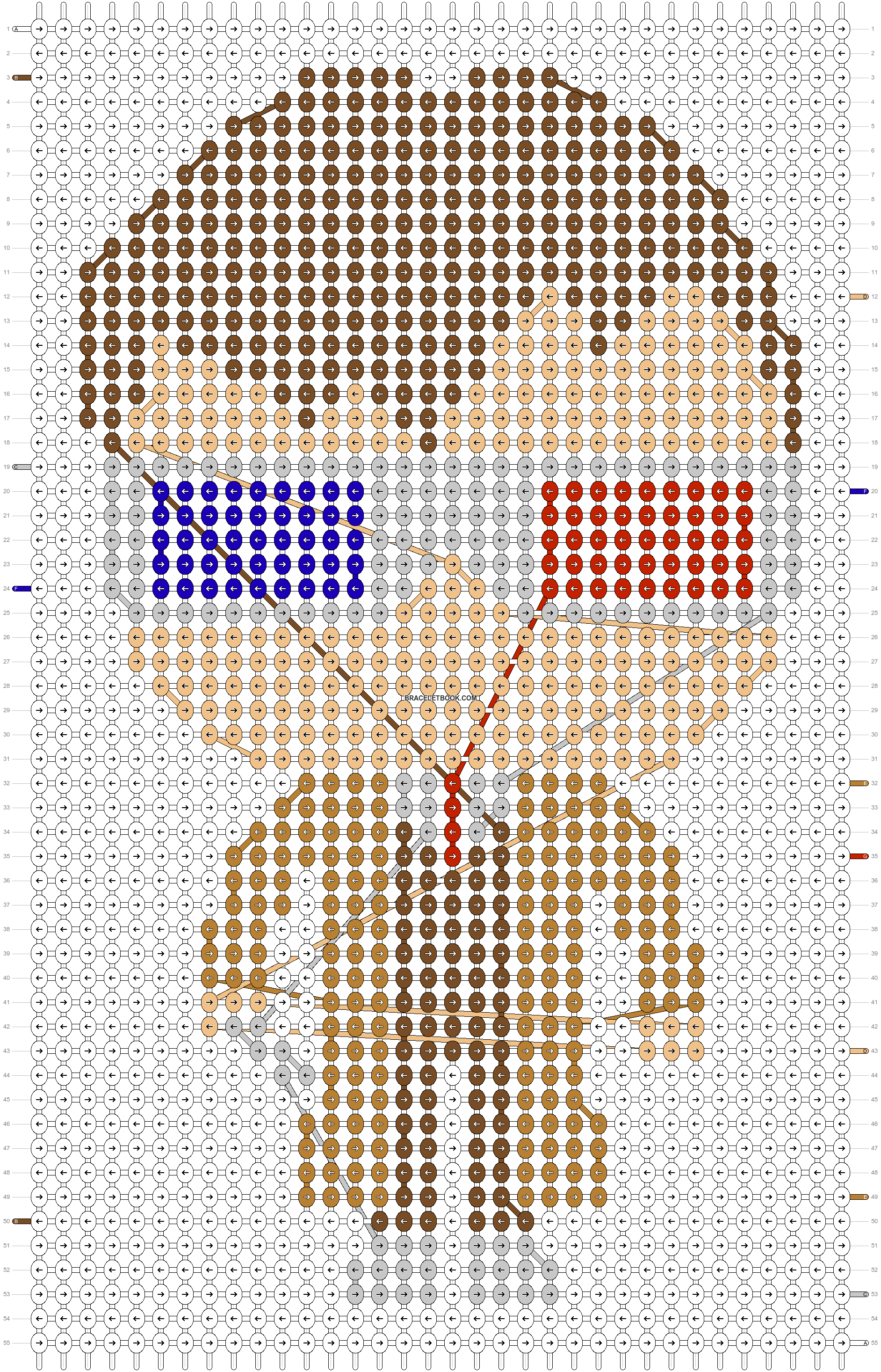 Alpha pattern #60288 pattern