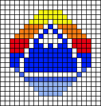 Alpha pattern #60292