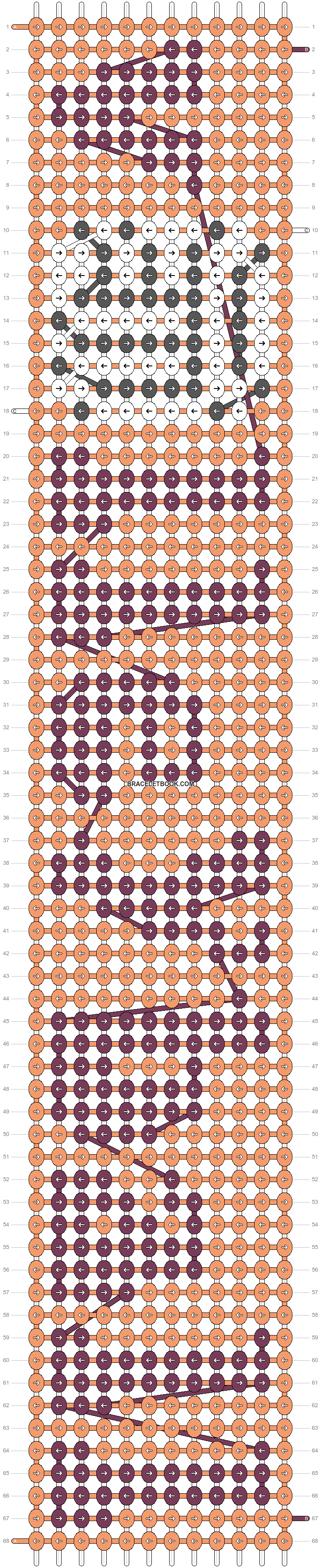 Alpha pattern #60303 pattern