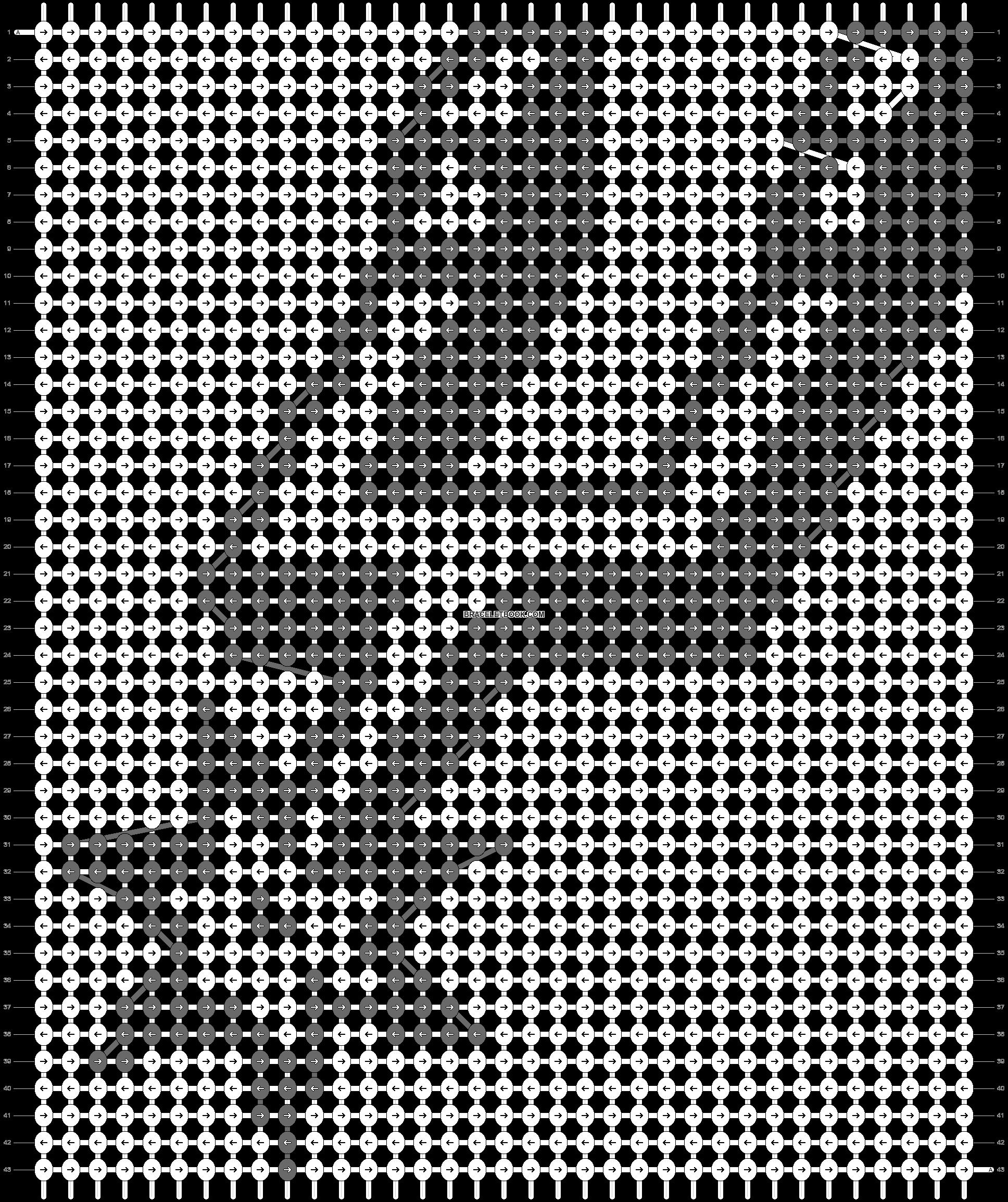 Alpha pattern #60328 pattern