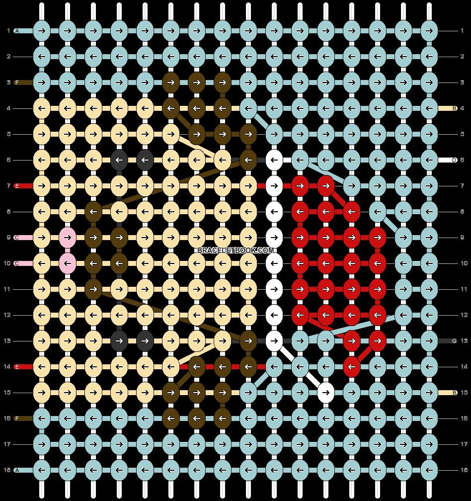 Alpha pattern #60335 pattern