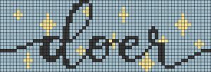 Alpha pattern #60433