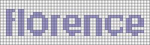 Alpha pattern #60495