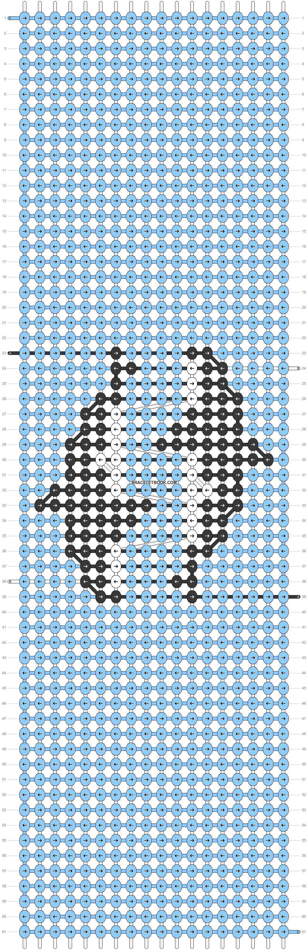 Alpha pattern #60554 pattern