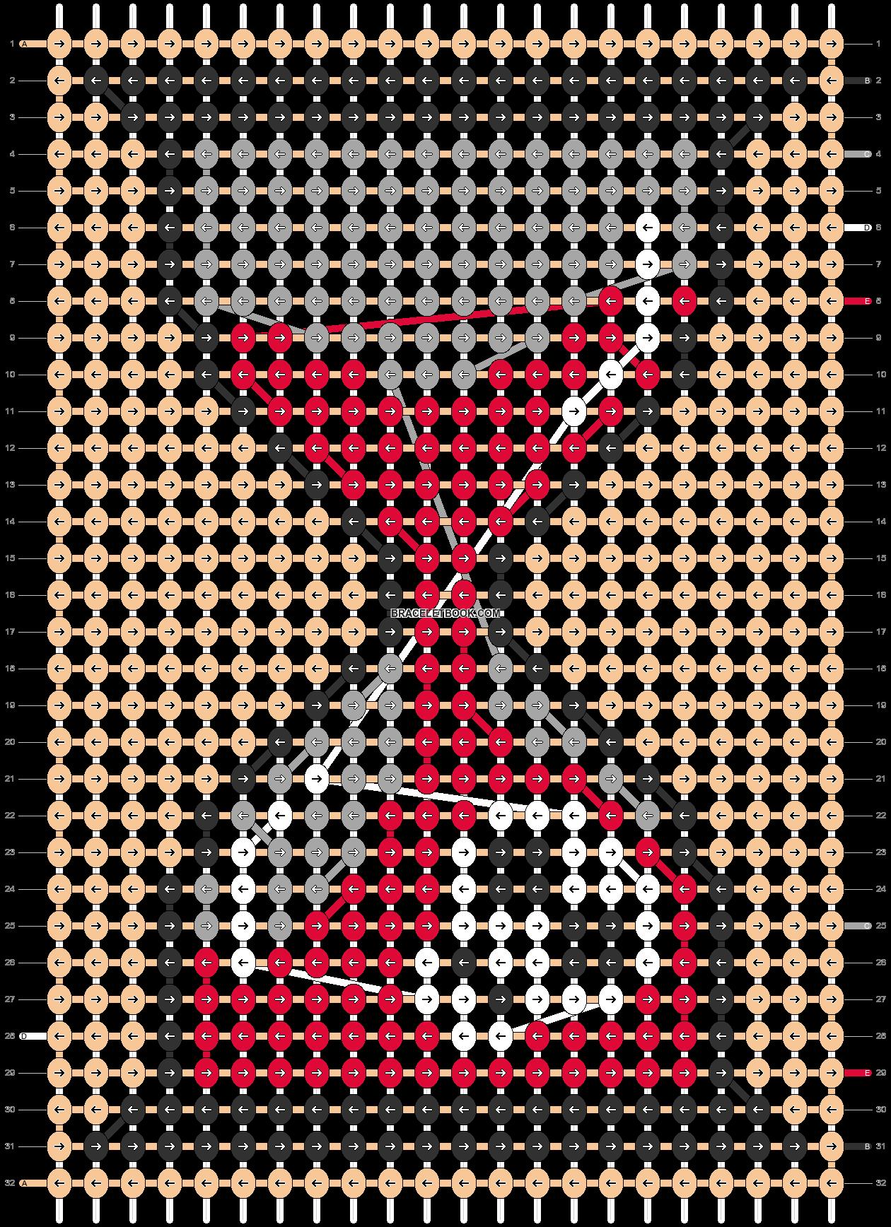 Alpha pattern #60575 pattern