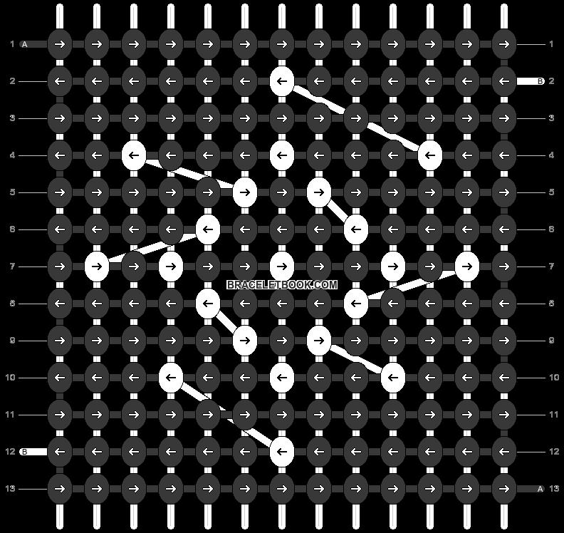 Alpha pattern #60583 pattern